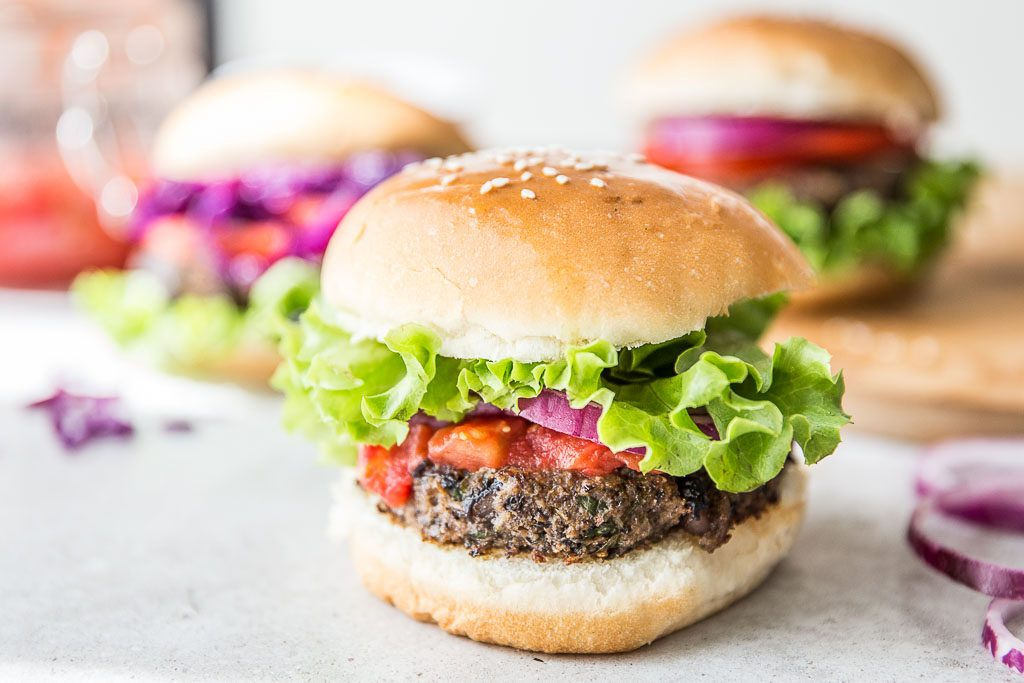 Todelli National Burger Day – Black Beans Burgers