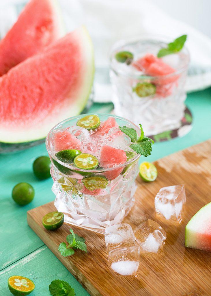 KORKO exotic drinks - Watermelon Fancy mocktail cocktail