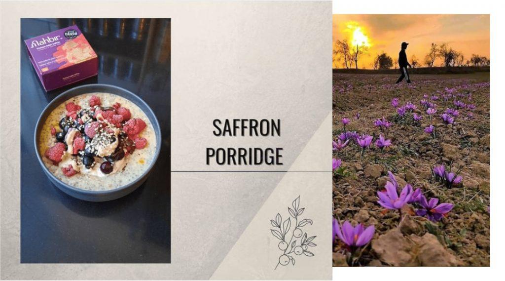 Saffron Porridge Recipe