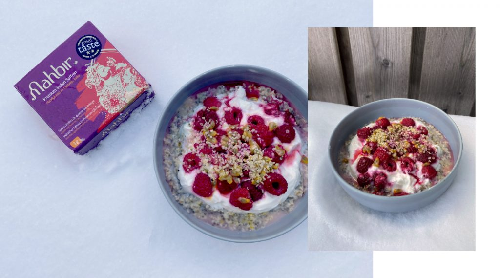Saffron Porridge Recipe – Easy & Healthy