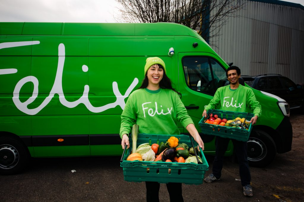Todelli – Donating surplus food – to the Felix Project